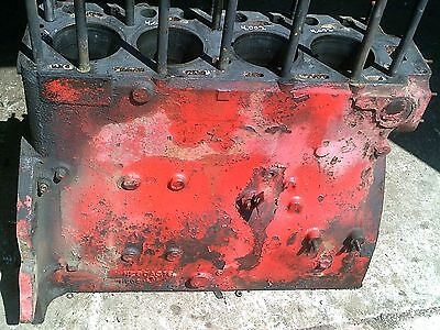 Massey Harris 44 Tractor Good Orgnal Mh 4 Cylinder Gas Engine Motor Block Bolts
