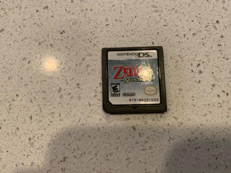 Zelda Spirit tracks made by Nintendo rated E 10+