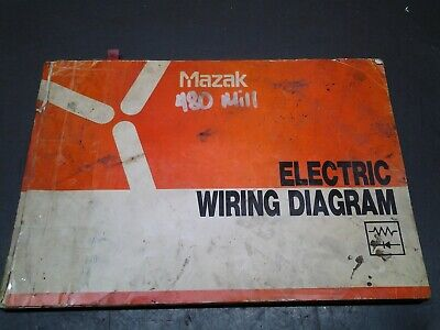 Mazak Electric Wiring Diagram For 480 Mill Ms-305