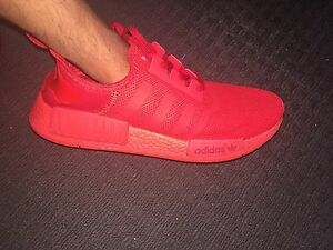 SOLAR RED ADIDAS NMD SHOES!!!!! Greenacres Port Adelaide Area Preview