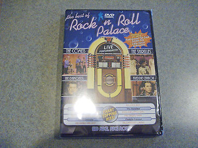 THE BEST OF ROCK N ROLL PALACE DVD THE COMETS BRAND NEW AND (The Rock Best Of)