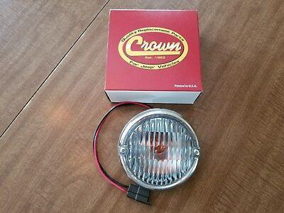 - Jeep CJ5,CJ7,CJ81976 to1986 Single Replacement Parking Light-Lamp Crown 5752771