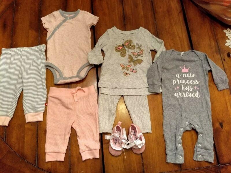 Baby Girl Clothes Lot. Size 3-6 Months. Oshkosh, Skip Hop, Euc!