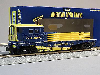 LIONEL AMERICAN FLYER COMMEMORATIVE WORK CABOOSE S Gauge AF 2 rail train 6-48880