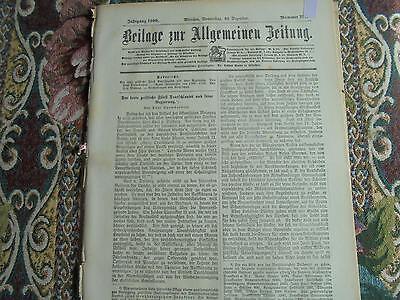 1900 Beilage...291 / Großherzogtum Frankfurt
