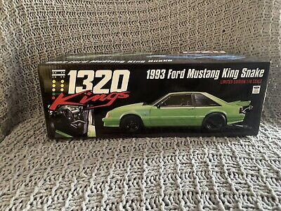 GMP Ford Mustang 1320 King Snake Nitro Green #129 L.E. 1:18 Scale Diecast 18888