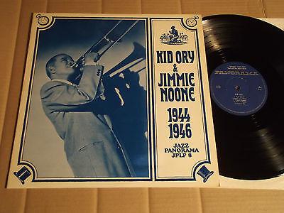 KID ORY & JIMMIE NOONE - 1944 - 1946 - LP - JAZZ PANORAMA JPLP 8