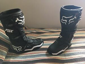 Brand new Fox comp 8 boots size 11
