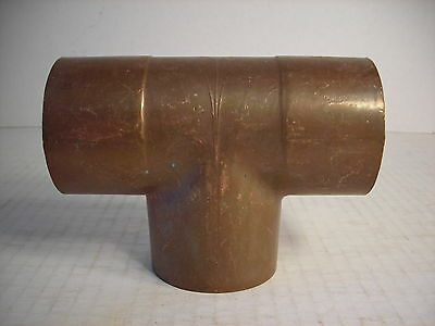 Nos 4 Cxcxc Copper Pressure Tee Plumbing For Water