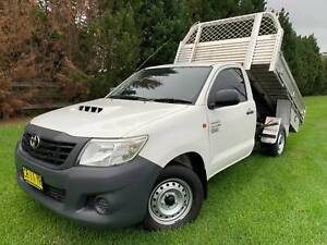 2013 Toyota Hilux WORKMATE CAB CHASSIS TIPPER Richmond Hawkesbury Area Preview