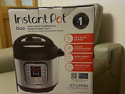 Instant Pot Duo 7-in-1 Electric Pressure Cooker, 6Qt, 5.7L 1000W - FREE SHIPPING