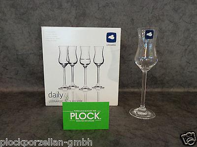LEONARDO Glas DAILY Grappaglas Grappa-Gläser Likörgläser Gläserset 6er Set NEU