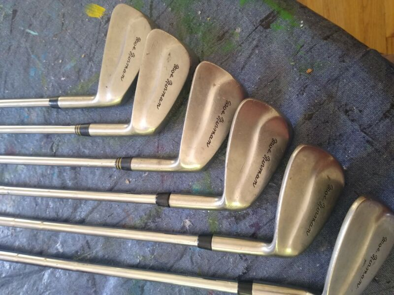 Moe Norman Irons, feeling of greatness, forged, steel shaft, very rare.