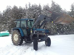 1996 Ford 7840 90hp Loader Tractor