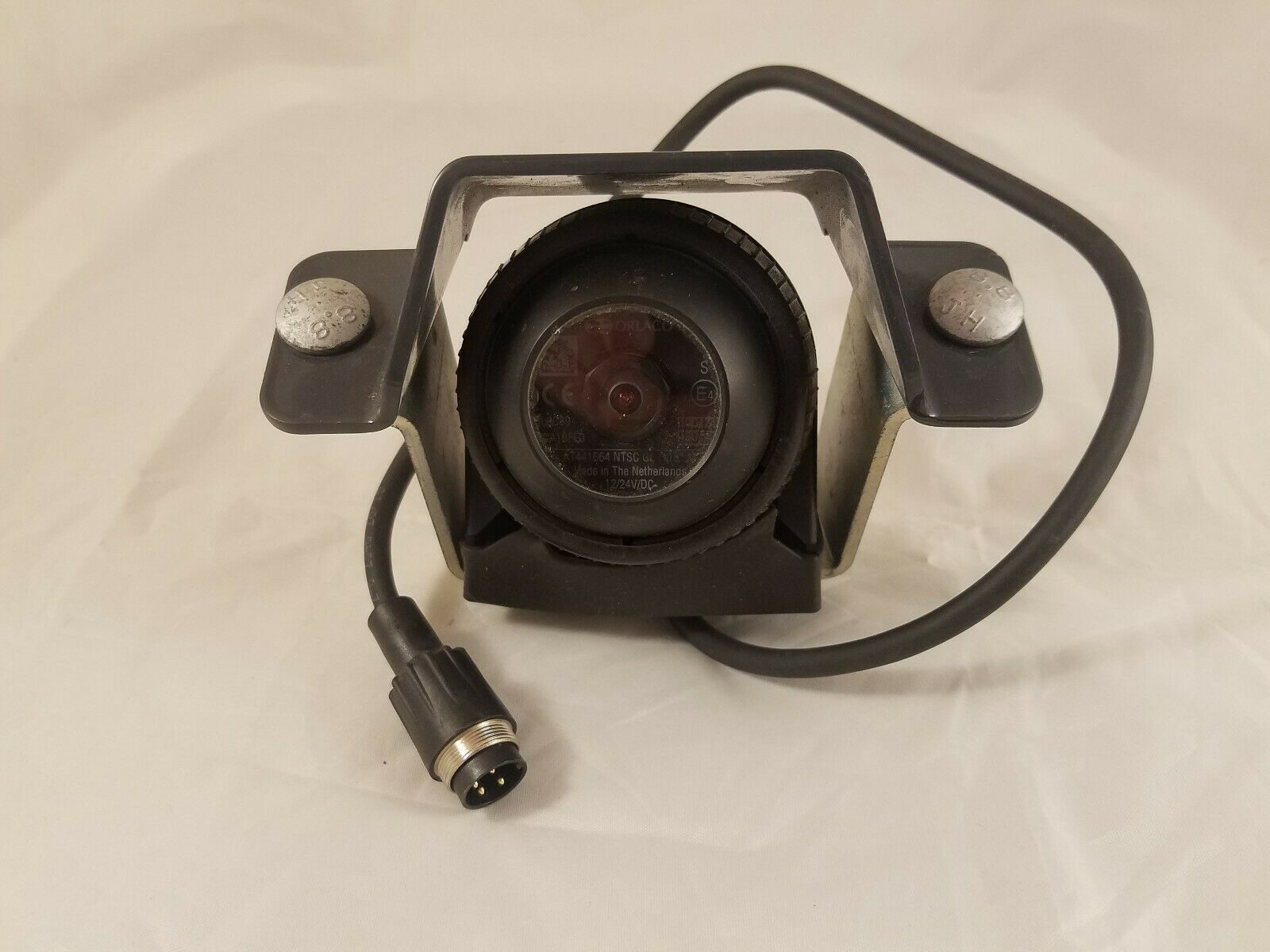Orlaco 4 Pin MILMOS Backup Camera CGLOC89 AT441664 NTSG GL 118 Degrees 12/24V DC