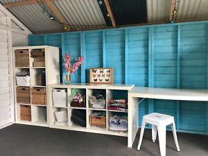 Studio Cabin Retreat Playroom Storage Cabana