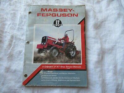 Massey Ferguson Mf 175 180 205 220 210 2675 2705 Tractor Service Shop Manual