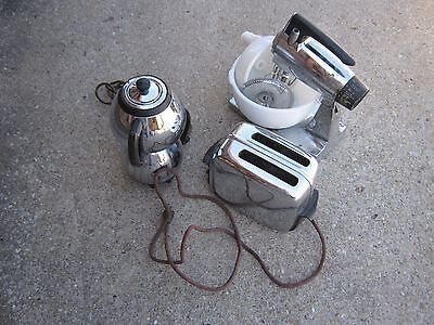 Boiler Vintage Small Kitchen Appliance Sunbeam Mixer Toastmaster decor only