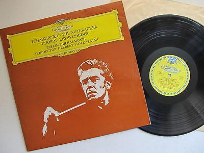 Tchaikovsky The Nutcracker,  Chopin Les Sylphides. Tulips BPO Karajan England