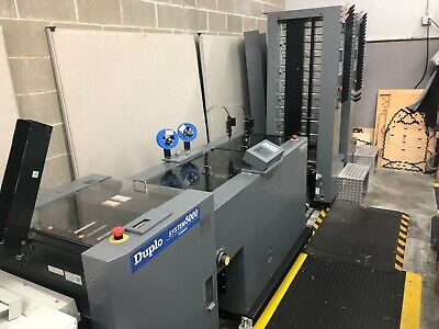 Duplo 5000 Booklet Maker With Two Collating Towers - Not A Horizon Or Bourg