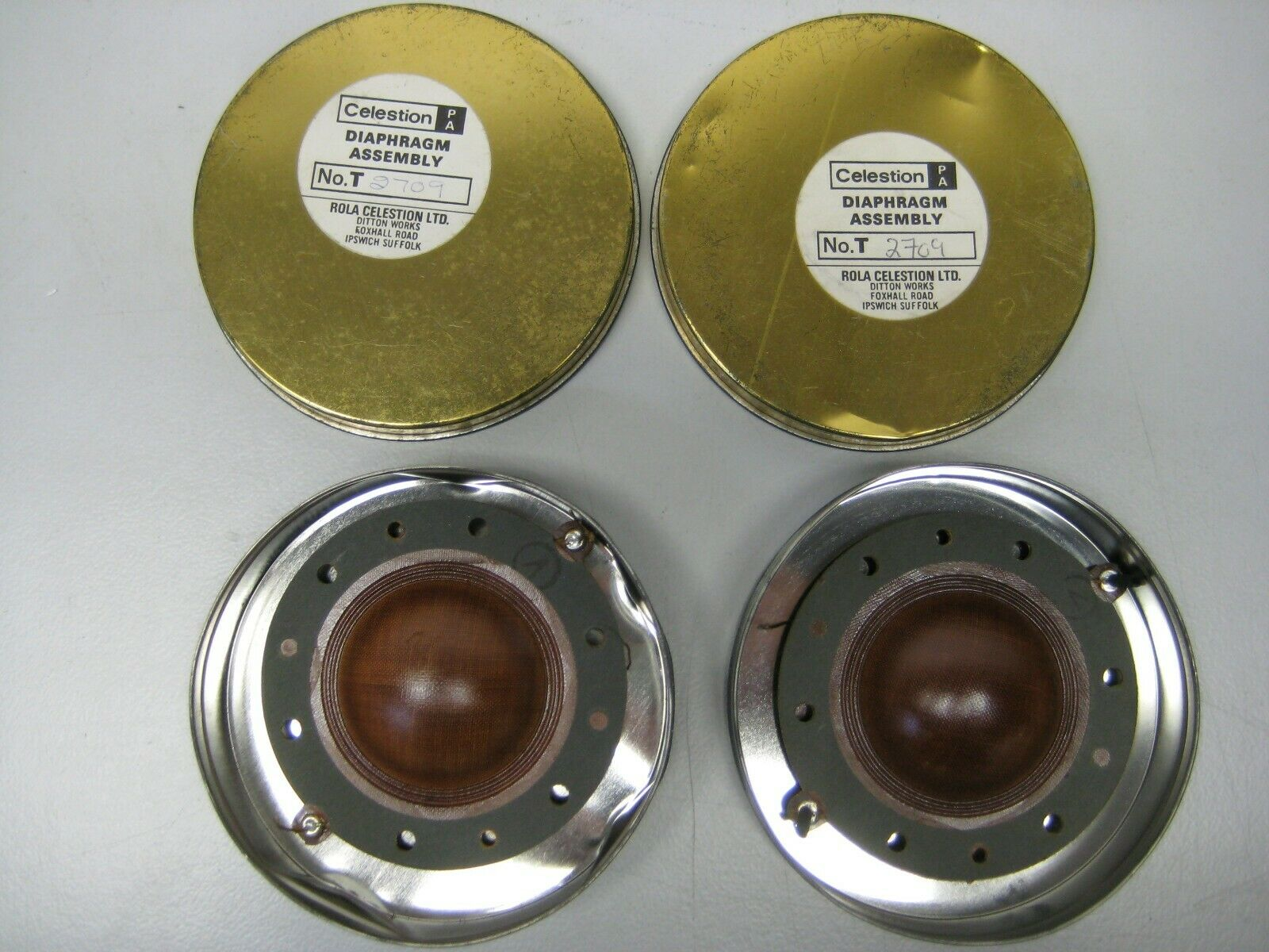 Celestion Diaphragma, No. T 2709, 2 Stk.