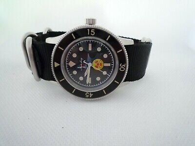 Time Arrow  FIFTY FATHOMS NO RADIATION AQUA LUNG submariner military 316L MIYOTA