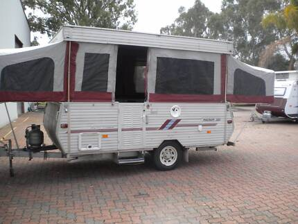 COROMAL MAGNUM 380 12 FT WIND UP CAMPER Northfield Port Adelaide Area Preview