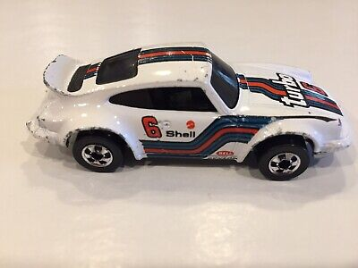 Vintage 1974 Hot Wheels Porsche P- 911 White  Turbo 6