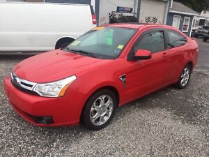 2008 FORD FOCUS COUPE FULLY LOADED!