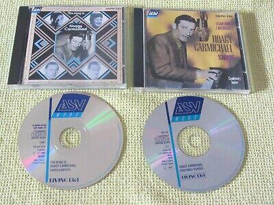 Hoagy Carmichael The Song Is … & Sometimes I Wonder 2 CD Albums Jazz Blues