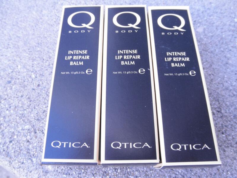 THREE QTICA INTENSE LIP REPAIR BALM 0.5oz each NEW!