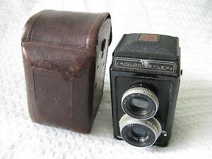 Vintage-French-ATOMS-Aiglon-Reflex-TLR-Camera-Case