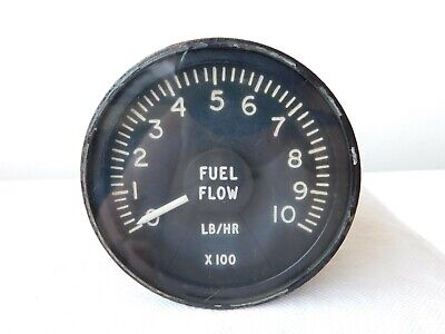 Wessex Helicopter Fuel Flow Gauge Ref No: 6A/4339376 [1R5A]