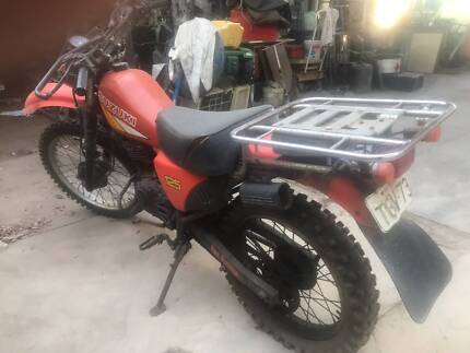 SUZUKI DF 125 AG BIKE , ON AND OFF RD