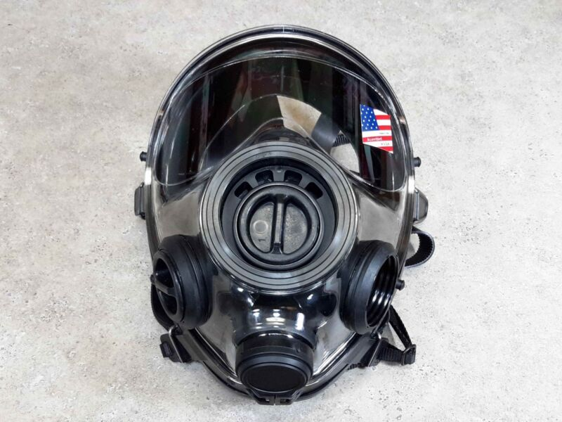 SGE 400/3 Gas Mask / 40mm Respirator - CBRN & NBC Protection -NEW - Made In 2021
