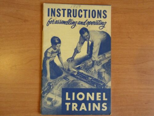 Instructions for assembling/operating Lionel Trains,1950, Clean & complete,(D13)