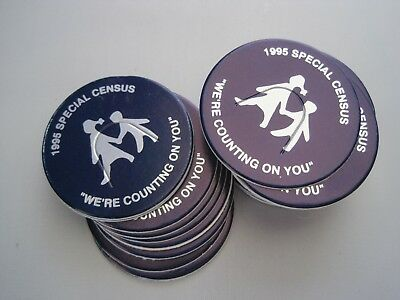 1995 Special Census Pogs Stack Approximately 28