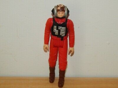 "STAR WARS VINTAGE B WING PILOT 3.75"" ACTION FIGURE #A"