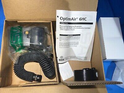 Optimaair Optima Air 6hc Powered Air Purifying Respirator Saranex Hood 10041550