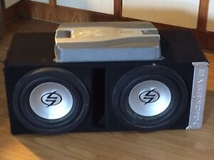 Subs and amp for sale or trade
