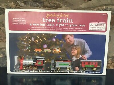 NEW Holiday Living Christmas Tree Express Train and Track Set 112903