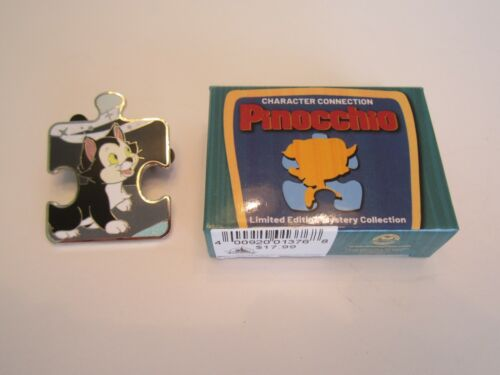 Disney Pinocchio Character Connection Mystery Figaro Cat  Puzzle Pin