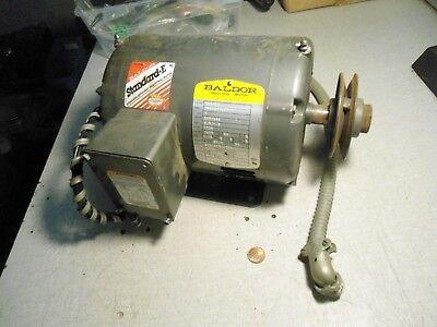 Baldor M3116t Electric Motor 1 Hp
