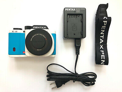 PENTAX K-01 Mirrorless Digital Camera Pancake Lens DA 40mm F2.8 XS Marc Newson