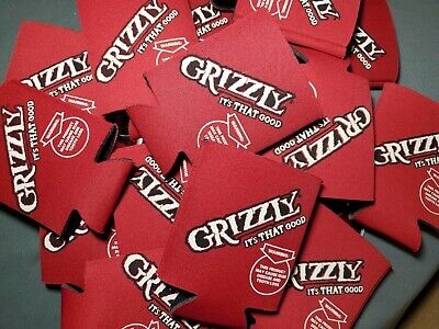 1 Grizzly Chewing Tobacco Beverage Koozie Insulator NEW!