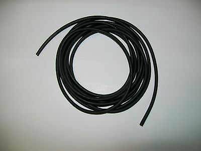 25 Continuous Feet 116 I.d X 132 W X 18 Od Latex Rubber Tubing Black Surgical