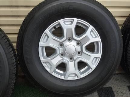 Ford Ranger PX11 Brand New Mag Wheels and Bridgestone Tyres
