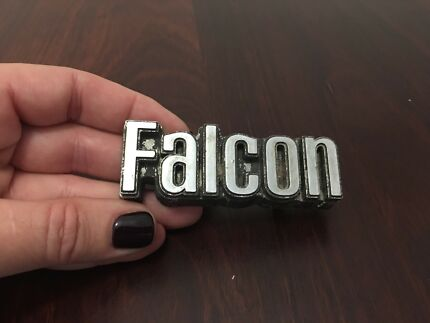Old Ford Falcon Car Badge Emblem Decal