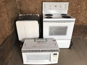 Electric Stove,Dish Washer and wall mount Microwave For Sale