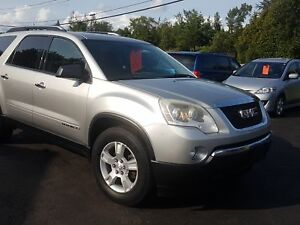2008 GMC Acadia 8 passenger fwd safetied SLE